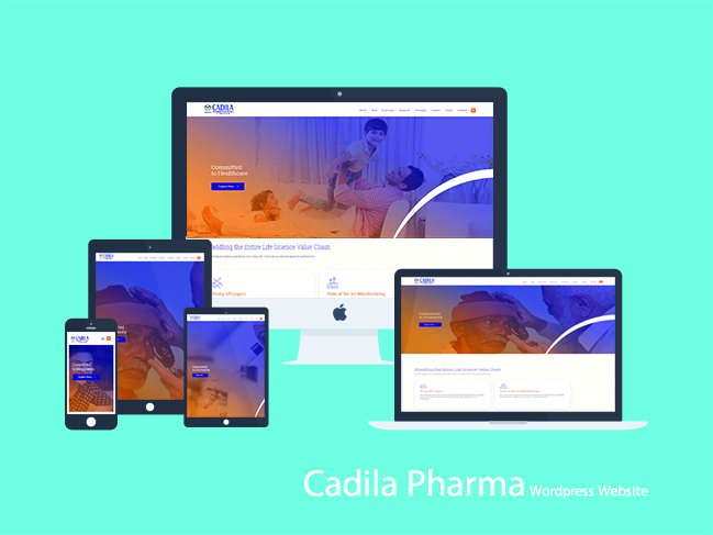 Cadila Pharma Website