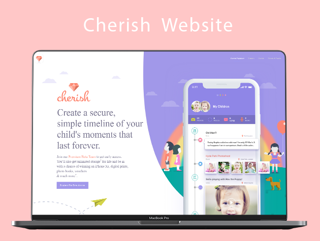 Cherish Website